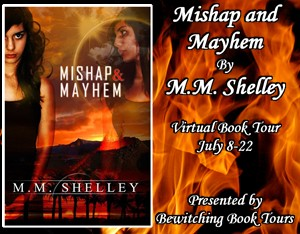 Guest Post & Giveaway with Author M.M. Shelley