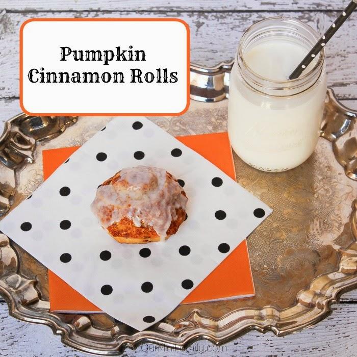 Pumpkin Cinnamon Goodness!