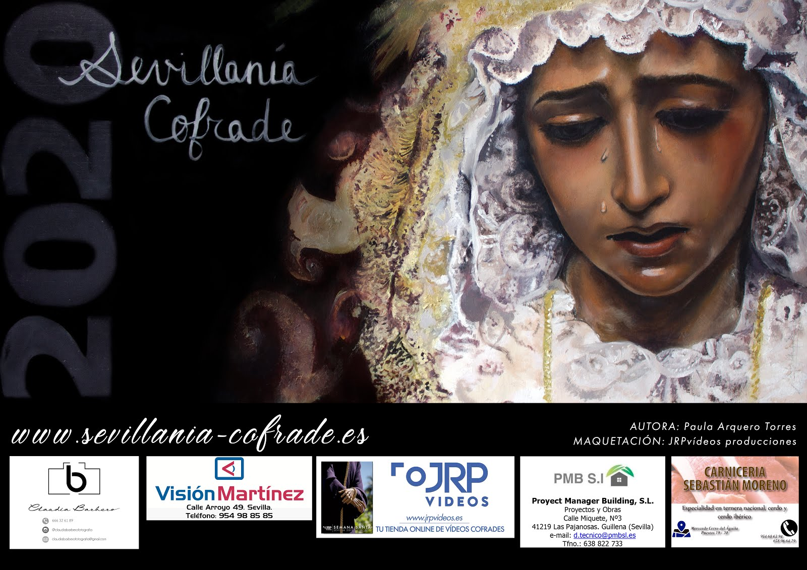 Cartel Sevillanía Cofrade 2020