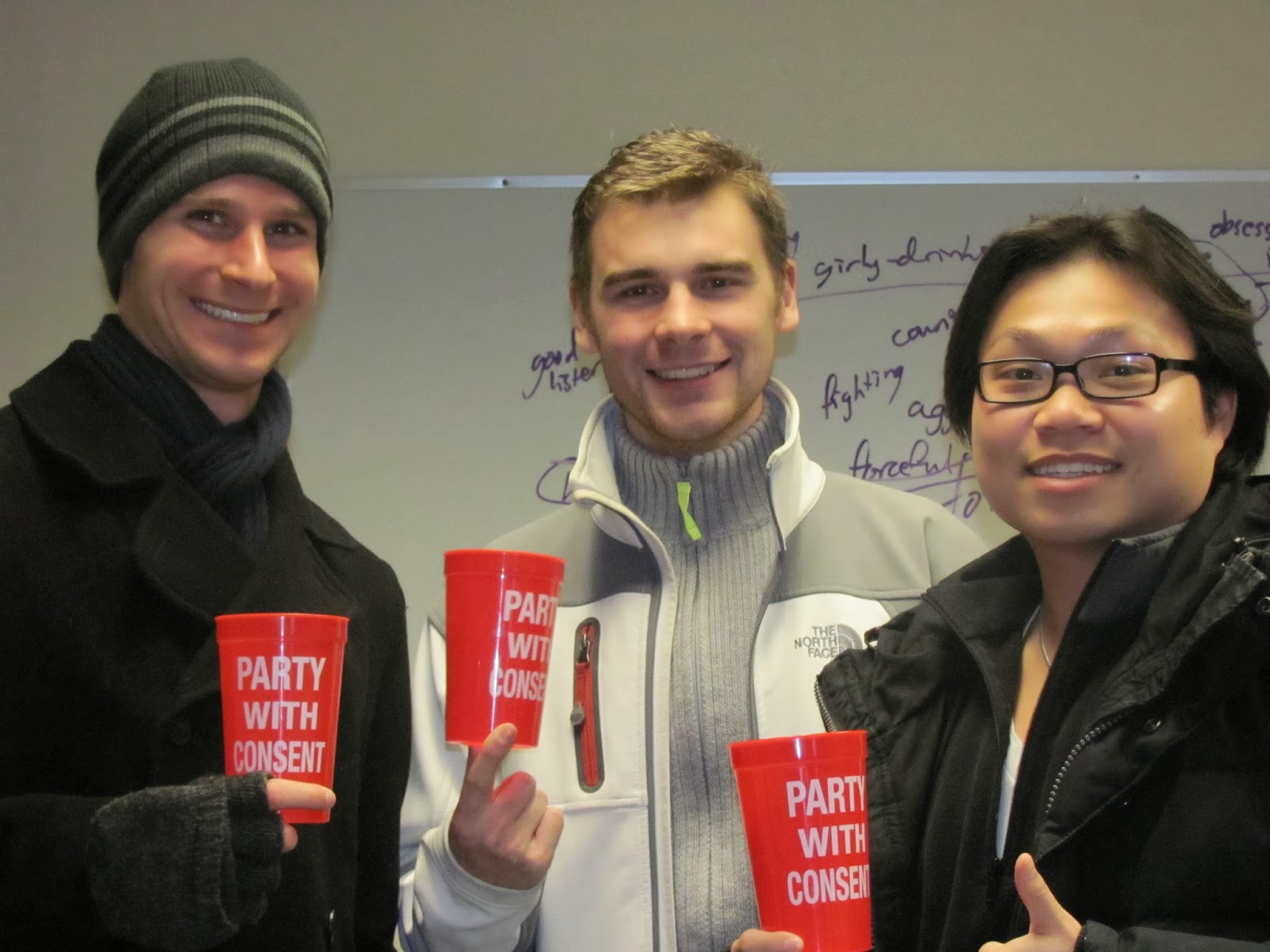 denison sustainability fellows david bohn alex uland and jack lin all juniors participated in s trial workshop