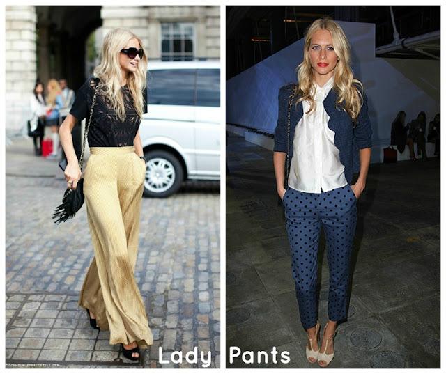 PoppyDelevingne Look LadyPants