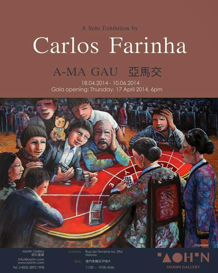Exposição A-Ma Gau de Carlos Farinha