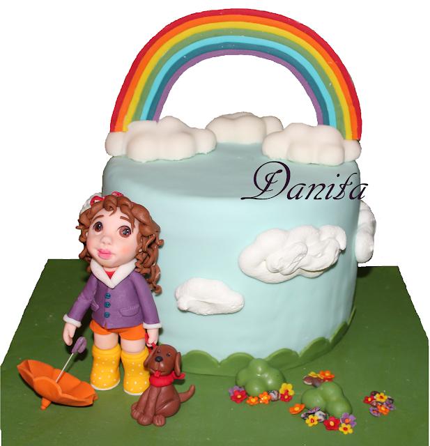 torta arcobaleno per la mia piccola: storia di ordinaria sfortuna in cucina!!