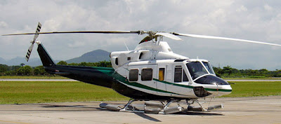Bell 412 Helicopter