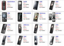 Daftar Harga HP Samsung Terbaru 2013!