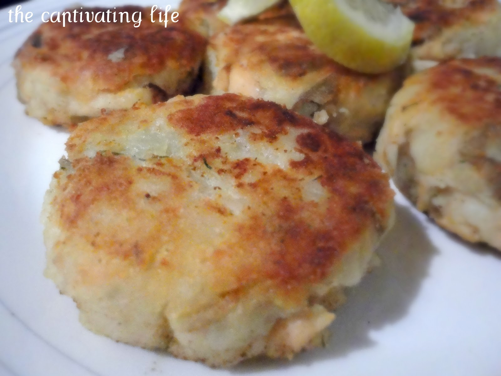 The Captivating Life: Salmon Potato Cakes