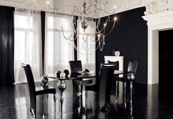 Celebrity Fashion Luxury Dining Room - Stylish-dining-rooms-from-cattelan-italia