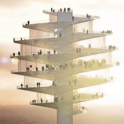 phoenix, observation tower, big