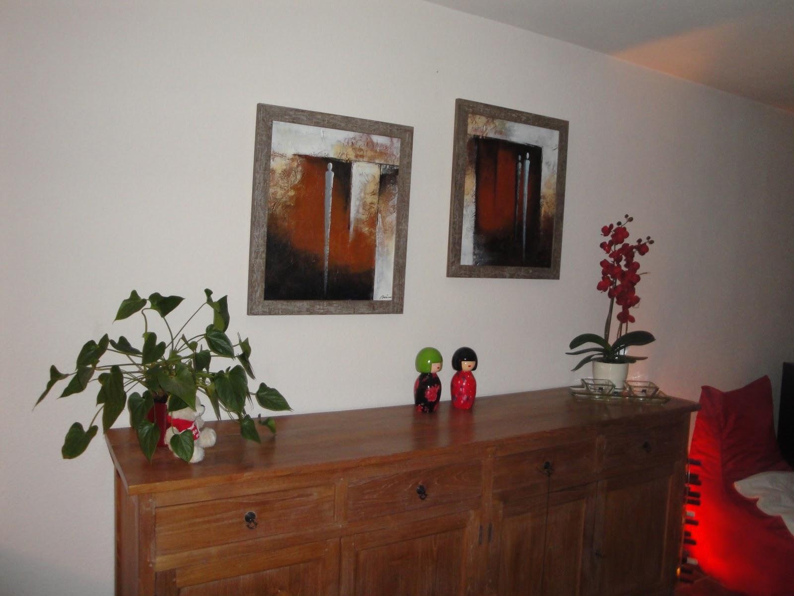 Foto Inlijsten Tips : Inlijsten en je interieur: lijst van steigerhout om canvas doek