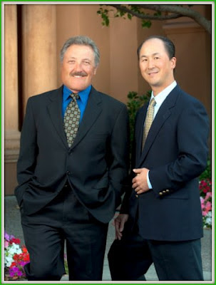 Dr. Brett Stompro and Dr. Chester Cheng