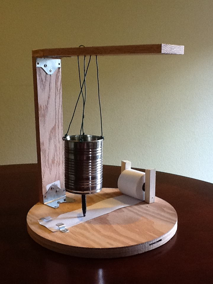 Love to Spin Yarns: My Brother's Science Project (Cool!!!)