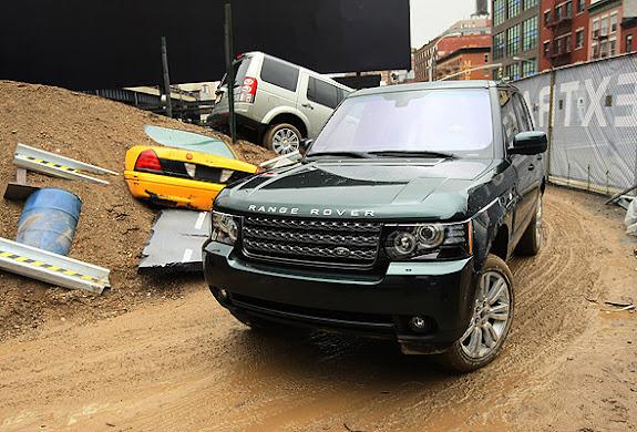 Pista de obstáculos Land Rover Experience