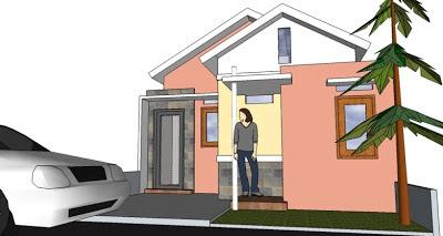 Gambar Desain Rumah Minimalis Ukuran 6 x 12 m