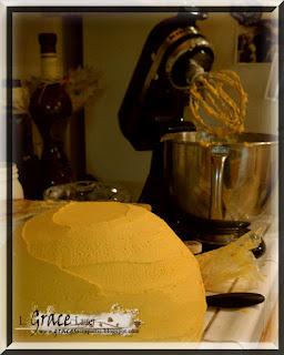 Golden Snitch Ice Cream Cake