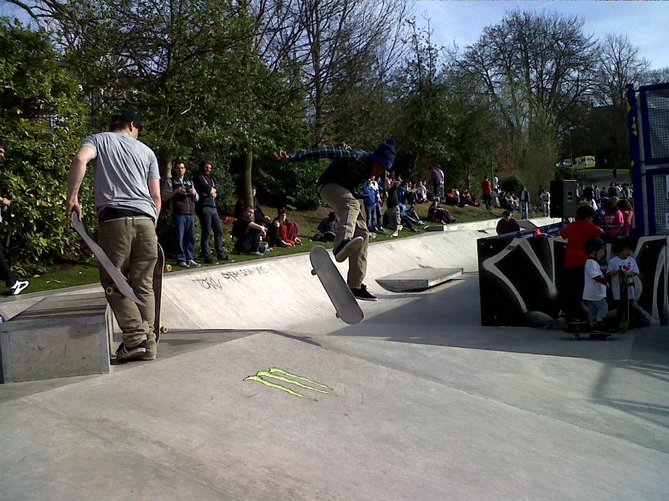 transpontine skate park opening