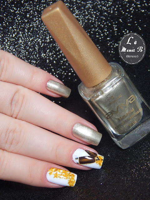 new year nail art
