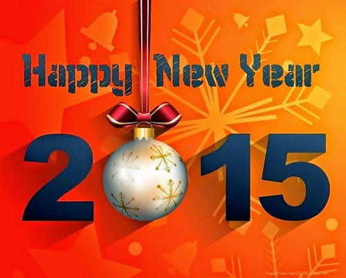 2015 Happy New Year Dekstop HD Wallpaper