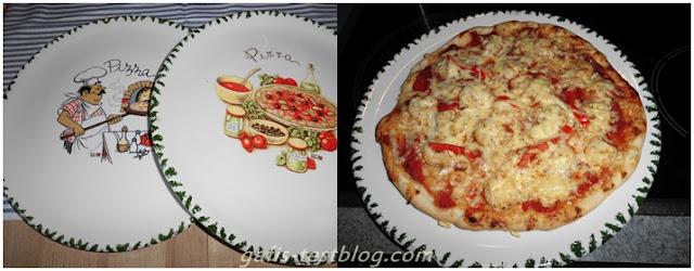 Pizzateller Fantasia von Ritzenhoff & Breker