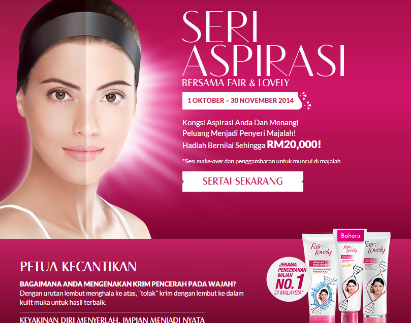 seri aspirasi fair lovely contest