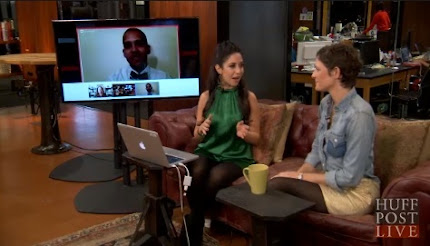 @tfnow Talks New Years Eve Fashion On HuffPost Live.