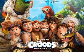 The Croods movies poster.
