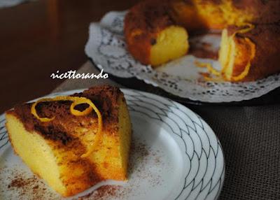 Ciambella all'arancia ricetta torta dolce e frutta