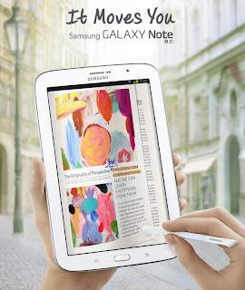 Samsung Galaxy Note 8.0 Spesifikasi, Fitur dan Info Harga