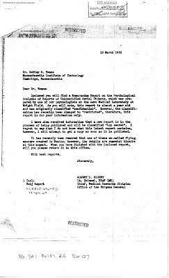 Colonel Blount's Letter 3-10-1950