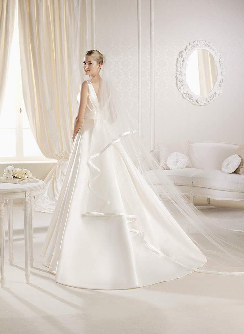 Idaia, princess wedding dress, La Sposa 2014