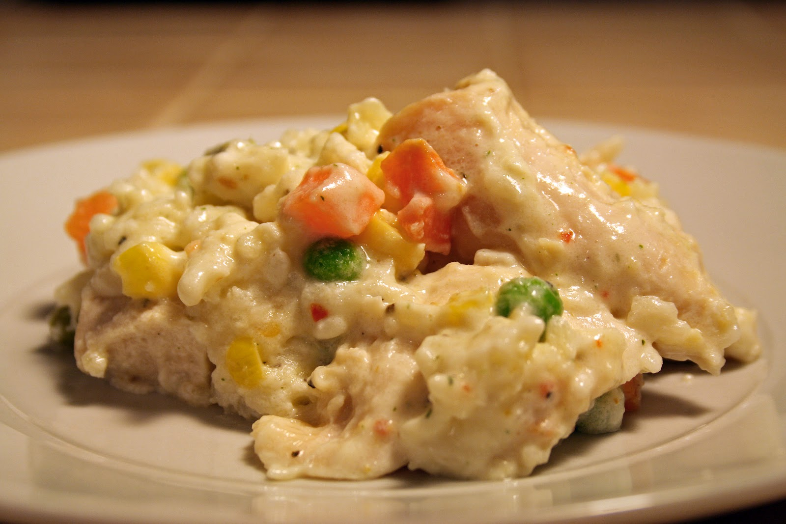 Lazy Gluten Free: Chicken & Rice Casserole