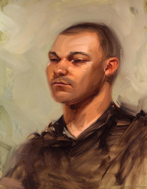 Kevin by Rob Rey - robreyfineart.com