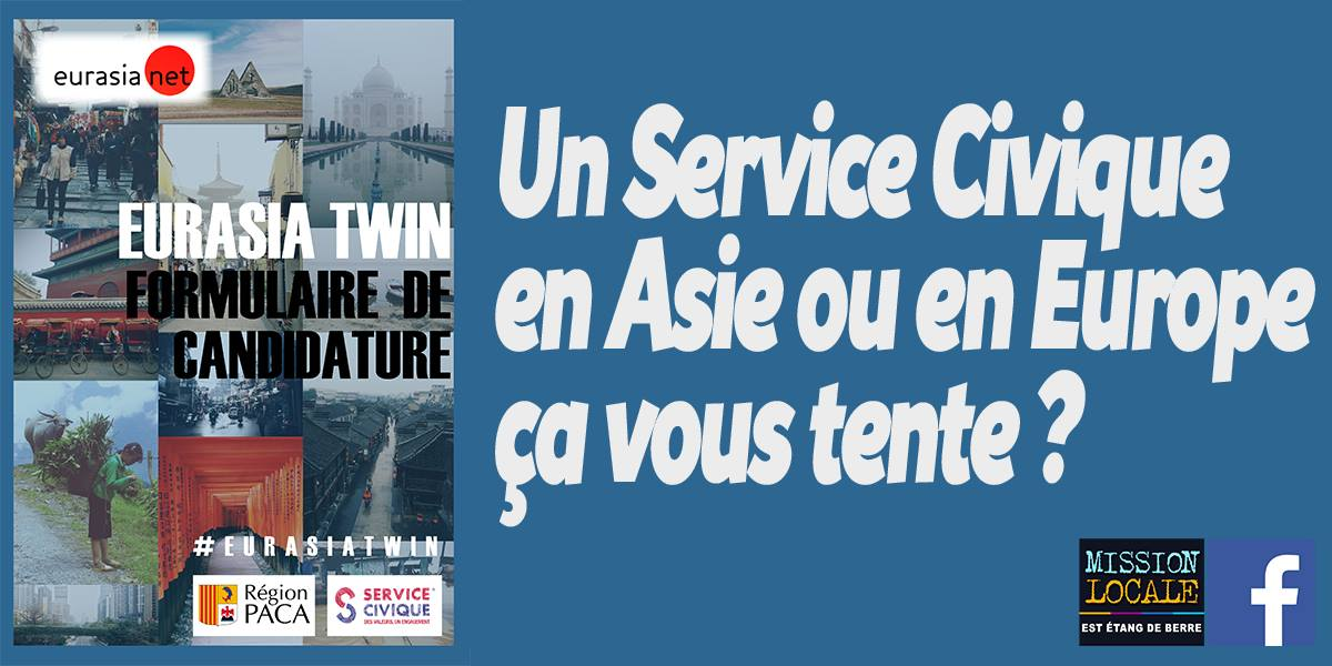 service civique en asie ou en europe