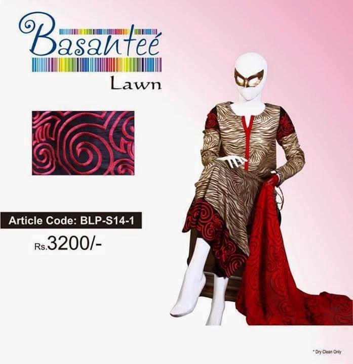 Basantee Lawn 2014 by Artimmix