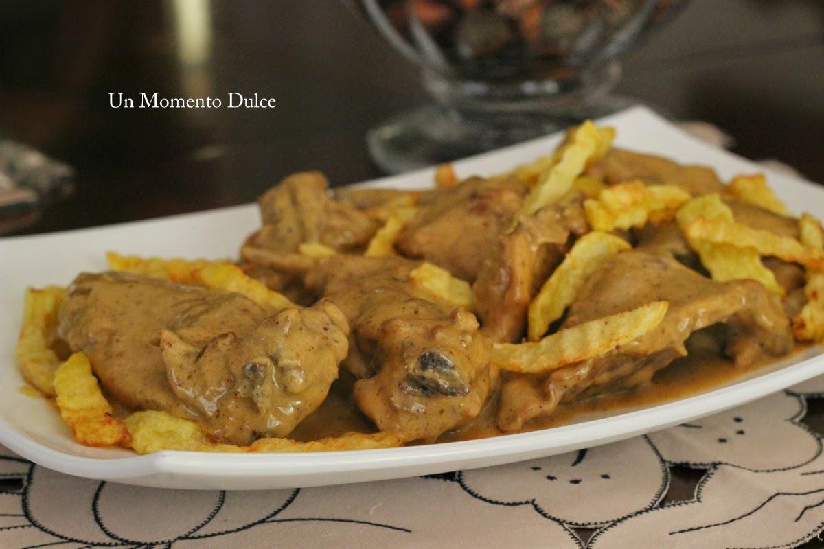 Un momento dulce conejo en salsa mostaza for Cocinar xoubas