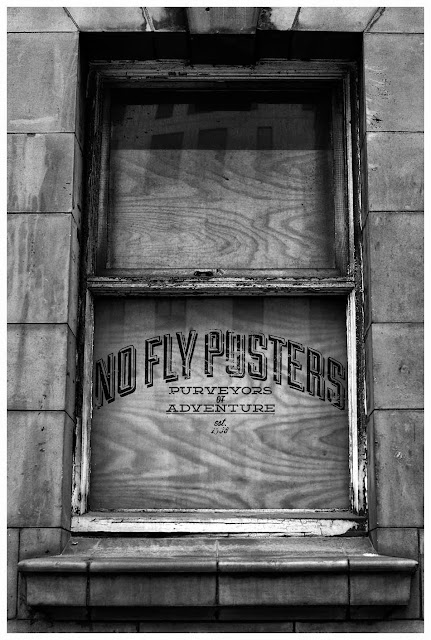 type, font, text, no fly posters, ancoats, traditional, vintage, grunge, worn down, graphics, graphic design, sign paint, sign, shop, glass, street signs, re-design, manchester, urbex,