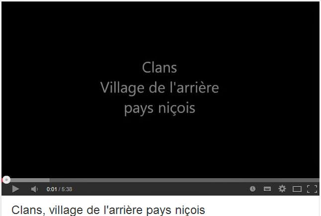 Vidéo de présentation du village de Clans