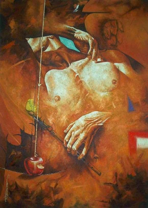Alex Stevenson Diaz Hyperrealism Painting