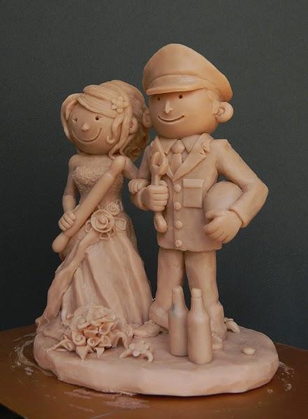 cake topper personalizzati torta nuziale fatti a mano artigianali orme magiche
