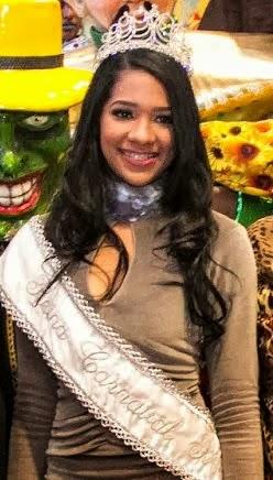 Reyna Carnaval Bonao 2014