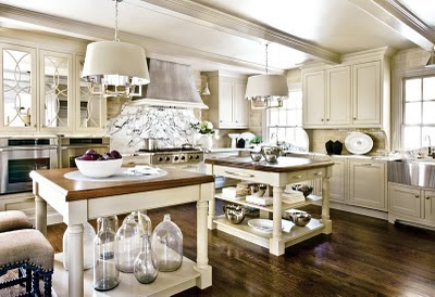 Kitchen Island Inspiration {rainonatinroof.com} #kitchen #island #inspiration