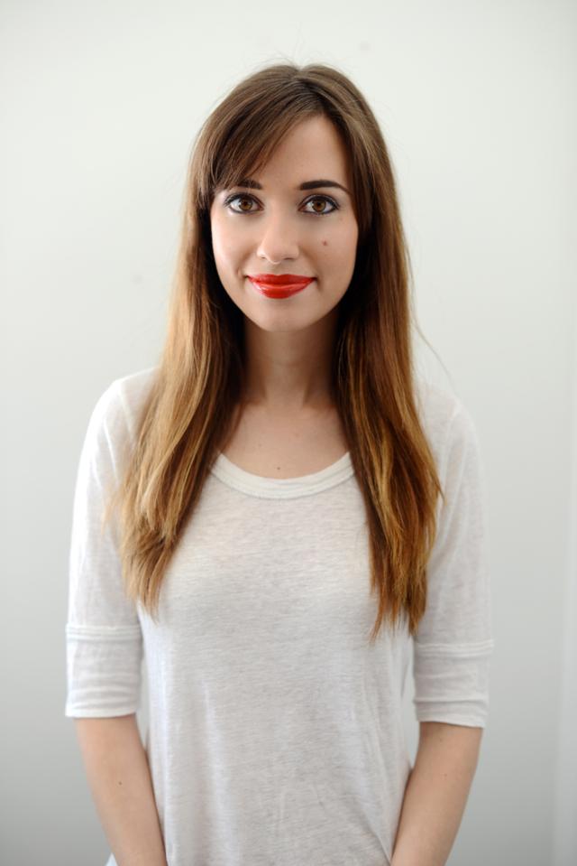 M Loves M lipstick picks with Urban Decay Bang lipstick @marmar