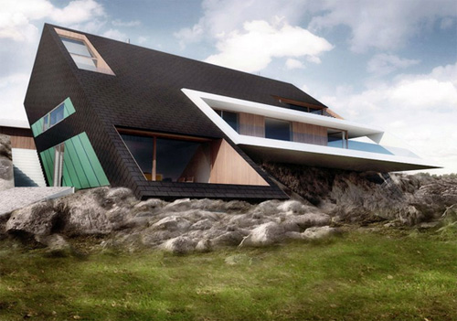 Concept Edge House By Mobius Architects Amazing Concept Design