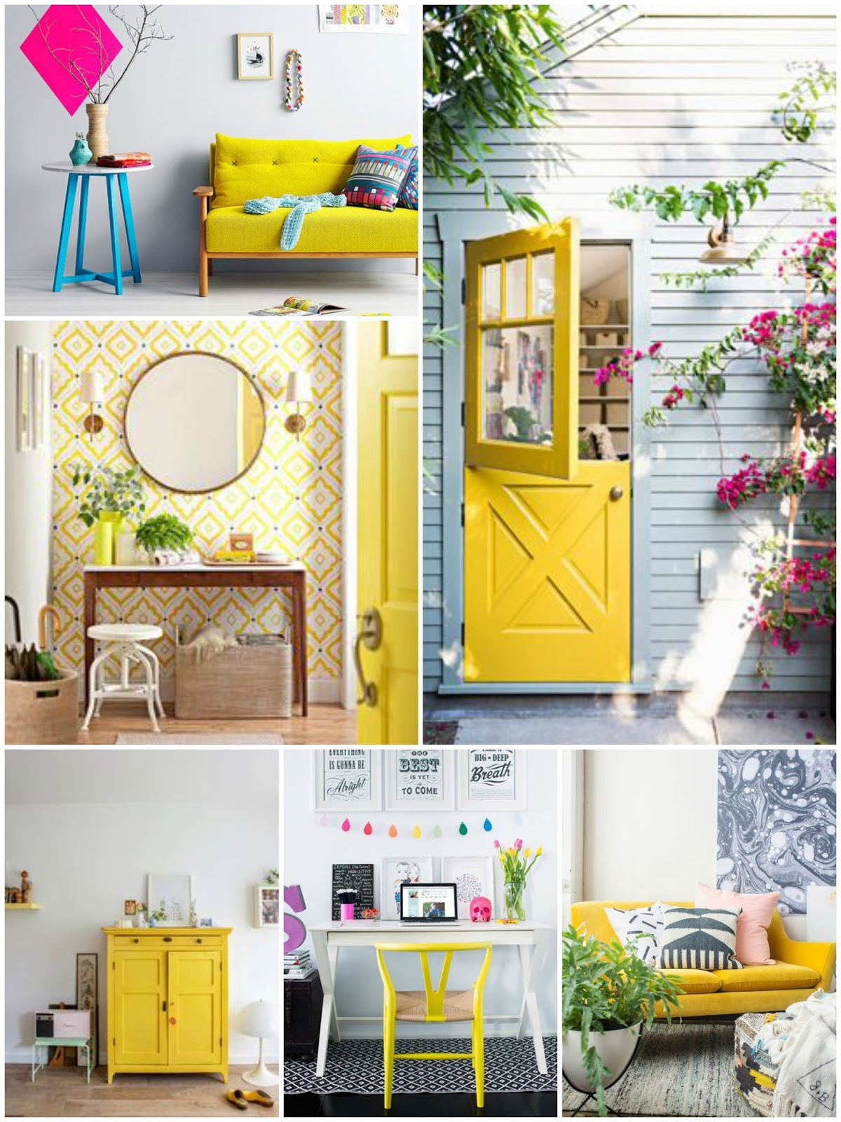 yellow decor moldboard monday