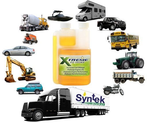 All vehicle fuel treatment