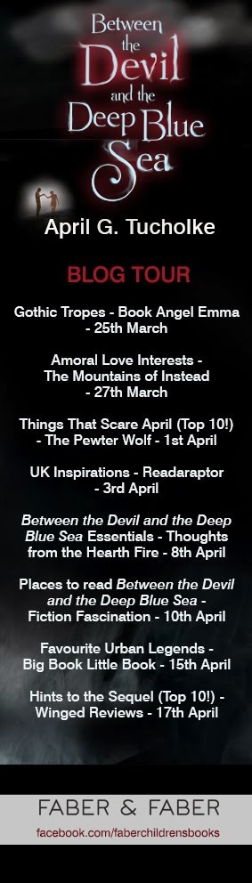 Between the Devil And The Deep Blue Sea Blog Tour