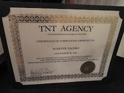 MUA Certificate