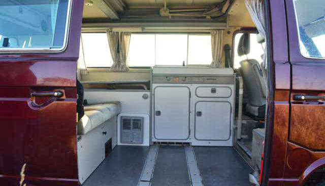 1991 syncro westfalia for sale buy classic volks for Interior westfalia