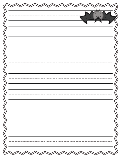 Bat writing paper