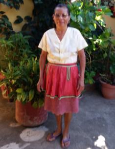 Naya works at La Casa del Rompecabezas, guesthouse in Antigua Guatemala