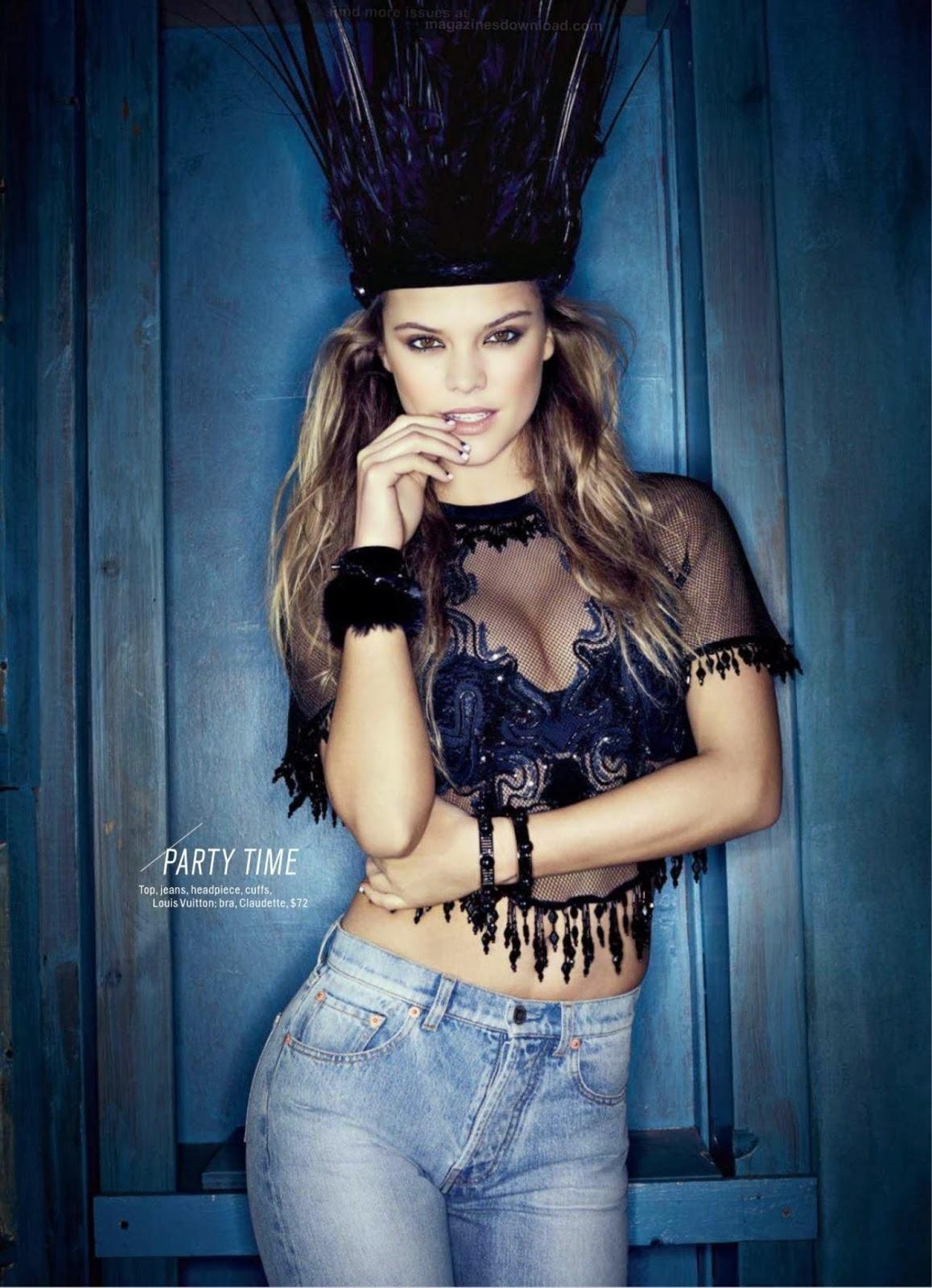 Nina Agdal HQ Pictures Cosmopolitan US Magazine Photoshoot April 2014